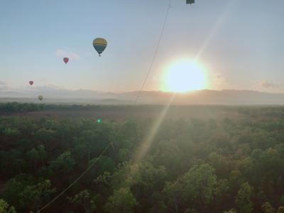 【熱気球体験@マリーバ(ケアンズ周辺)/オーストラリア】 ◆NOV/2019◆