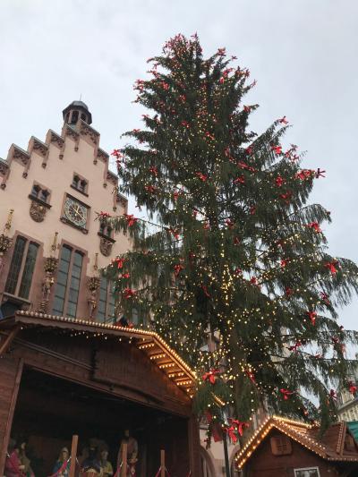 ドイツ フランクフルト/クリスマスムードの街を散策