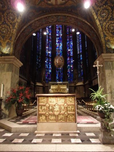 2017年ドイツ&ちょこっとオランダのクリスマスマーケット巡りの旅 【25】世界遺産のアーヘン大聖堂へ