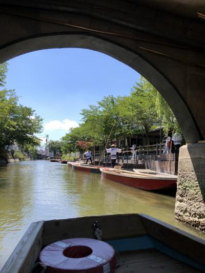 ANAとく旅で行った九州旅行、柳川水郷巡り編