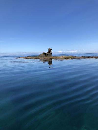 北海道 道南2泊3日ドライブの旅 2日目② 青の洞窟クルーズ 知内町矢越漁港