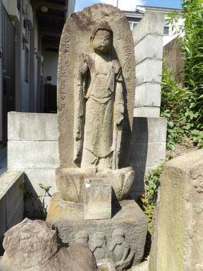 堀ノ内の庚申塚(横浜市南区堀ノ内町2)