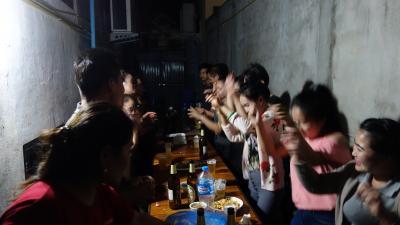 2018 BANGKOK - LAOS 人生初の海外年越し 9日目 チャーターボートとホテルの新年会乱入 編