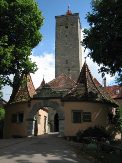 心の安らぎ旅行 2005年(15年前)夫が撮ってくれていた Rothenburg ローテンブルク Part2♪