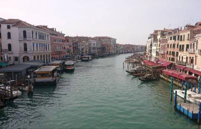 イタリア・ヴェネチア~水の都「サン・マルコ広場 カナル・グランデ ため息橋 リアルト橋 」
