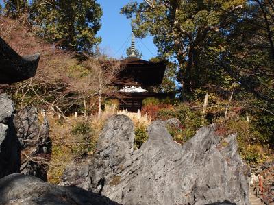 2019年冬 京都と奈良のひとり旅 二日目【1】 西国三十三観音霊場巡り、岩間寺と石山寺