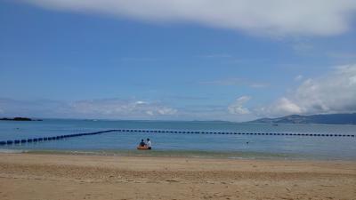 二度目のハレクラニ沖縄は夫と一緒に☆リゾートステイを満喫できて最高!!  2日目 : ビーチとプールで泳ぎ真っ黒に@@