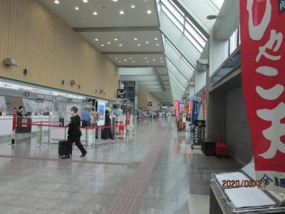 愛媛(伊予)一国ドライブ巡礼(2)松山空港。