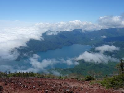 2020 栃木県 父子2人旅~ 男体山(2,486m)~ 登山編 ~ ひたすら登り、きつかったが頂上よかった! ~