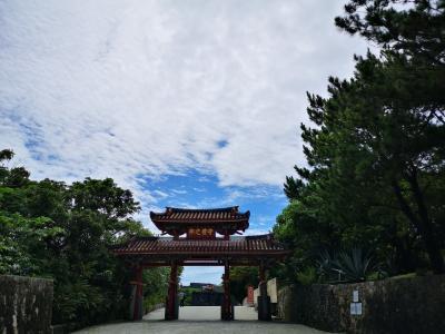 梅雨明けの沖縄
