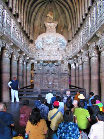 南&西インドの旅⑧ アウランガーバードから世界遺産「アジャンター石窟寺院」まで悪路の長距離を往復する