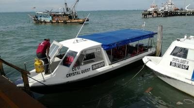 マレーシア活動制限令下でのボルネオ島・サンダカンへの旅 4.タートルアイランドへ
