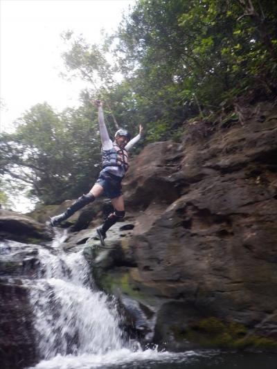 夏!!八重山 西表島「洞窟&キャニオニングツアー」に参加しました。