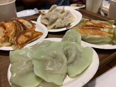 台湾気分 餃子と豆花