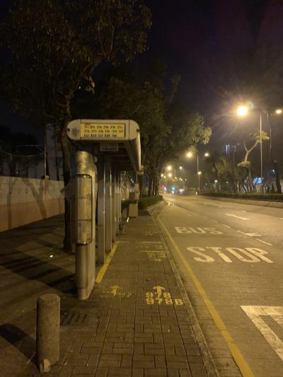 長い旅行の一部です。香港→台湾→関西
