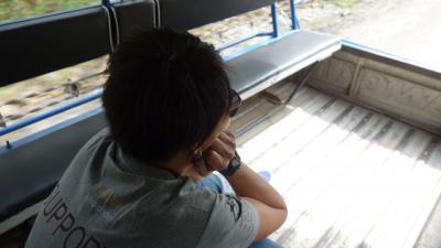 2018 BANGKOK - LAOS 人生初の海外年越し 10日目 ソンテウチャーターで行くクアンシーの滝 編