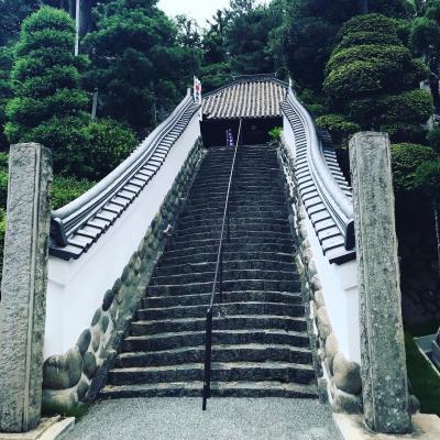 知多市八幡へ。知多四国81番の龍蔵寺と知多四国80番栖光院を訪れました