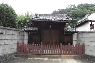 下町の表門のあるお屋敷(横浜市磯子区下町)