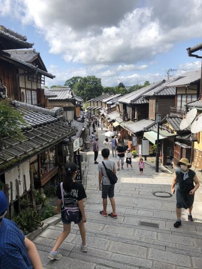 自粛明けの京都旅行~小学生と中学生と寺社巡り