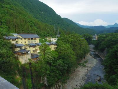東武リバティで大内宿~塔のへつり~湯野上温泉へ