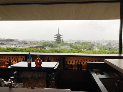 自粛後初 プチとりっぷ 大雨の京都を歩く