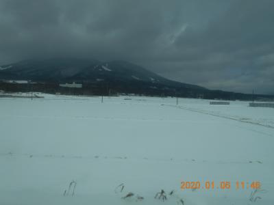 雪景色の旅と会津若松城