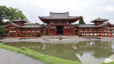 梅雨の京都。2泊3日で空模様を見ながら。宇治の平等院、鞍馬山から貴船までハイキング!?