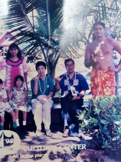 オアフ島-2 1995/7 ポリネシア/カルチャー/センター ☆ナバテック/ディナークルーズ☆スヌーバダイビングも
