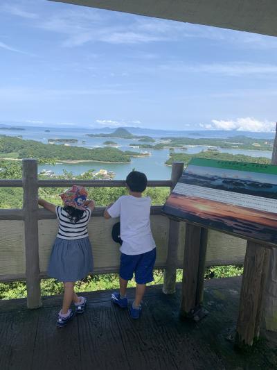 熊本 5歳,7歳子連れ 1泊2日 家族旅行 2日目 上天草観光編