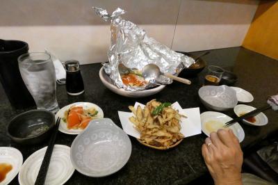 九十厨(くじゅうくり)三島店 の夕食