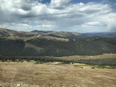 コロラド州 ロッキー マウンテン国立公園 - トレイル リッジ ロード