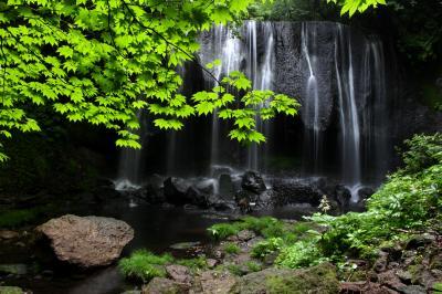 ◆青葉スガシキ初夏ノ達沢不動滝