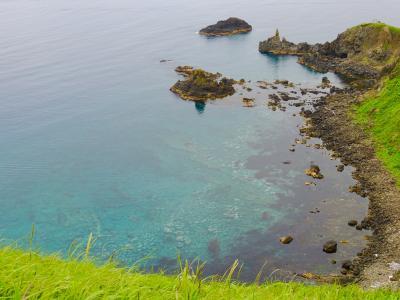 憧れの利尻礼文3日目は青い海と緑の姫沼がご馳走でした