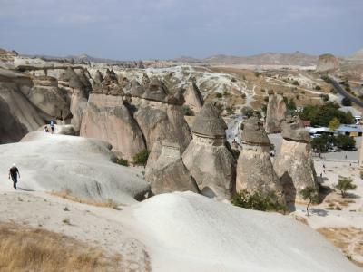 2018年トルコツアー9日間、ここは小人の国?ニョキニョキキノコの岩がすごい!⑥後半