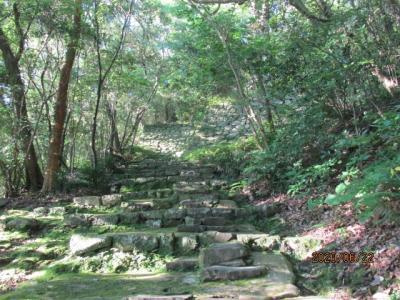 愛媛(伊予一国)ドライブ巡礼(11)朝、宇和島城に登る。