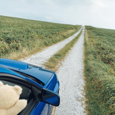 車載カメラ【絶景ドライブ 100選】宗谷丘陵 シェルロード 北海道 白い道 2019年版
