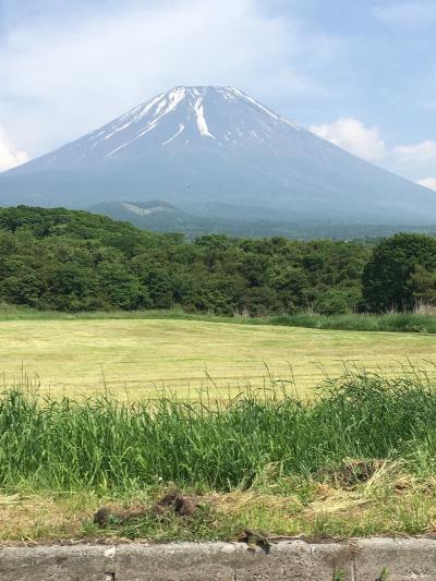富士山へ行きました。