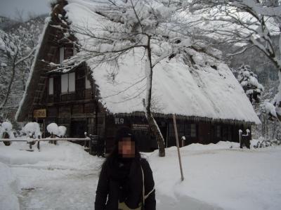 正月の白川郷・北陸ツアー3日間(2009年1月)岐阜編:飛騨高山・白川郷