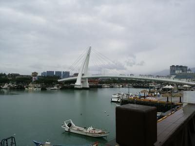 ツアーで台湾北部を周遊4. 淡水観光~雨のLover's Bridgeへ~