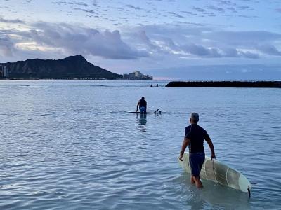 渡航制限から4ヶ月経過(7月)のハワイ