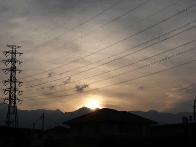 散歩・早朝バージョン =日の出を見ながら= 2020.06.16