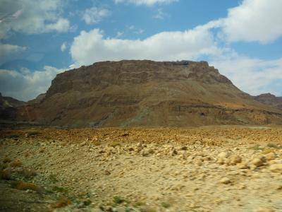 マサダから死海へ~イスラエル南部のバス旅