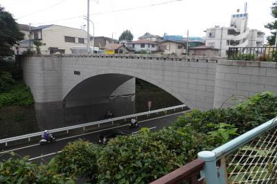 霞坂と霞橋(横浜市西区霞ヶ丘)