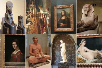 新型コロナ流行後、4カ月ぶりに再開したルーヴル美術館へ