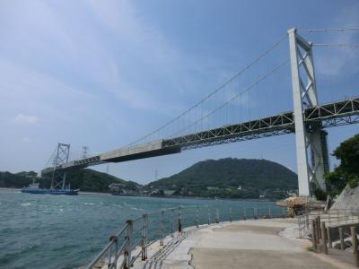 西日本フェリー旅・その5.関門海峡ぶらぶらウォーキング。