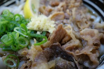 20200711-1 高松 麺処 綿谷、牛肉ぶっかけうどん