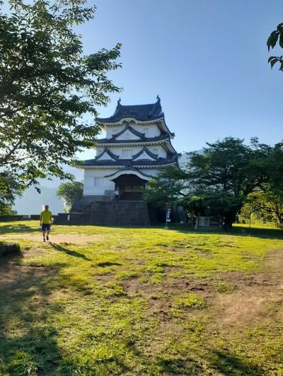 愛媛(伊予一国)ドライブ巡礼(13)宇和島城を下城する。