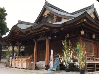 東京・湯島天神→上野不忍池→下谷神社2020~夏詣と蓮の池と花手水~