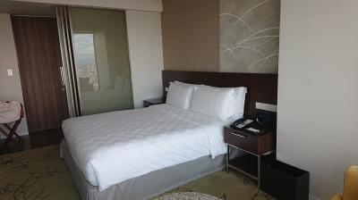娘と大阪市内でホテル宿泊