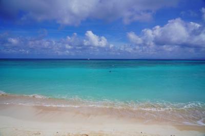 八重山諸島・周遊の旅 4(ニシハマビーチと波照間島の集落)